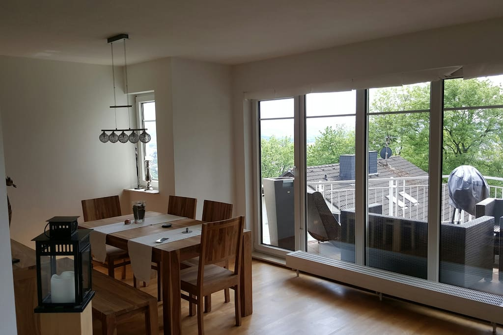 offenes Esszimmer / open Dining Room