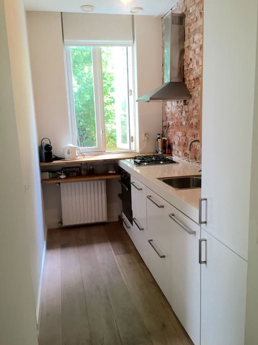 Fully equiped kitchen with dishwasher!
