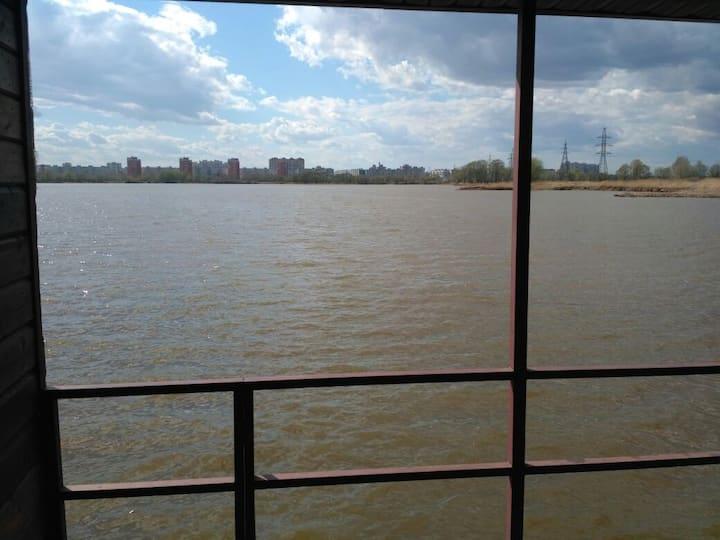 Дома на воде рядом с Казань Арена