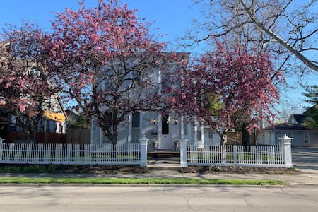The Muncie Guesthouse: A Refreshed Historic Home