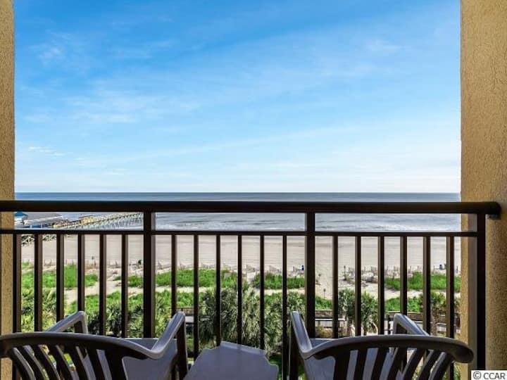 BEST LOCATION !! Beachfront condo Great amenities