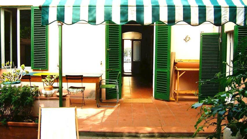 Charming seaside villa Tuscany - Livorno - Huis
