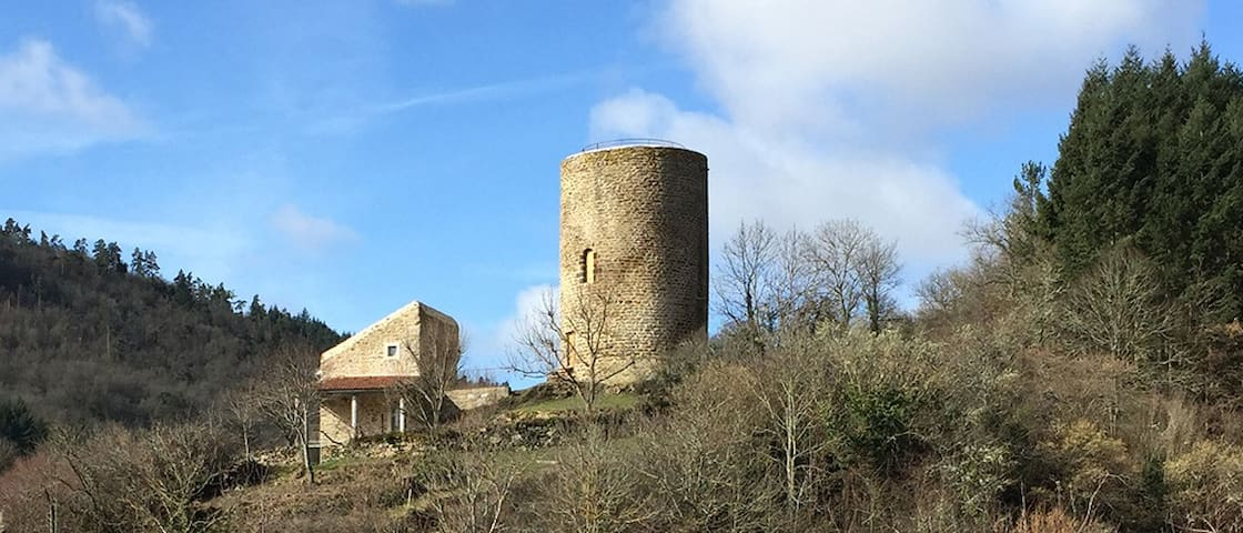 Massadou medieval tower - Blesle - Castle