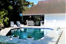 Swimming Pool and Braai Area is available to guests