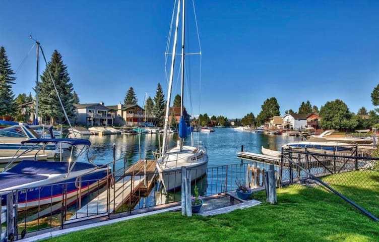Water front House- fully furnished with kayaks