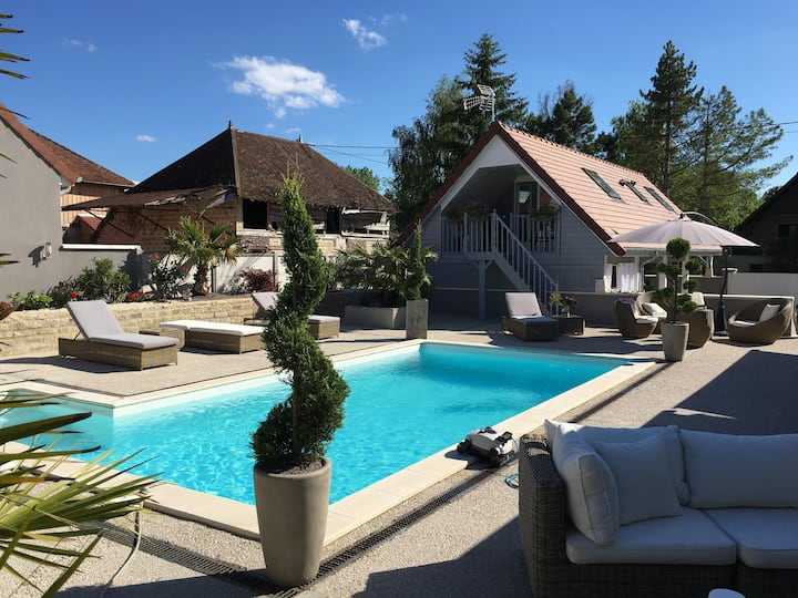 APPART ,TERRASSE PRIVEE,PISCINE