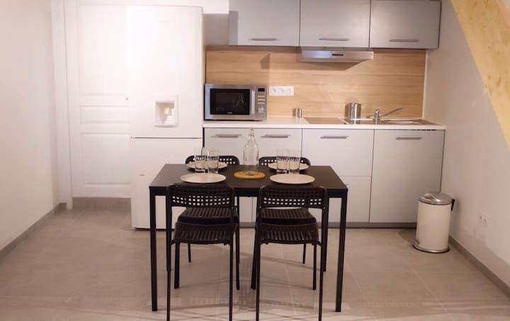 Appartement 4pers Avignon, clim a la campagne