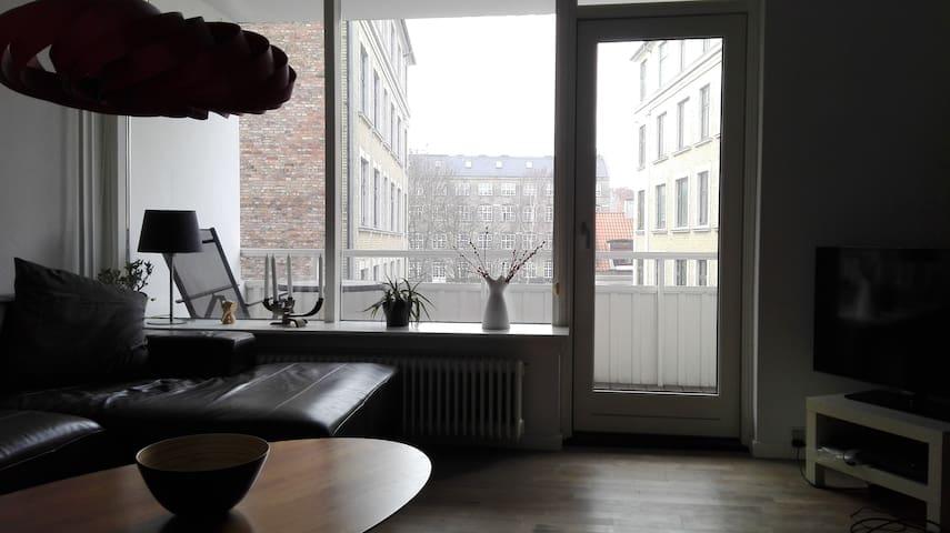 Great location central Copenhagen. - Kodaň - Byt