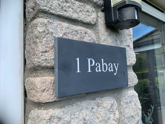 """Pabay"" @ Knock View apartments , Sleat, Skye"