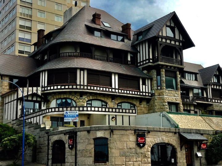 Elegant Antique Property in a Castle, Ocean Front