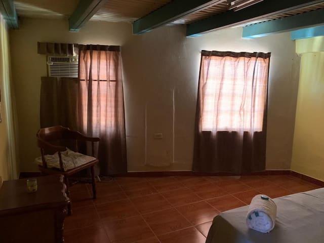 Esta es la habitación Nata