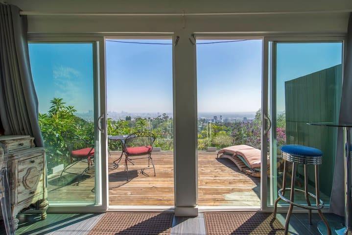 Hollywood Hills panoramic penthouse
