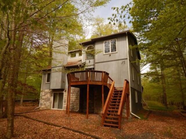 Modern Pocono house 3bedroom 2.5 bath 3200sq ft