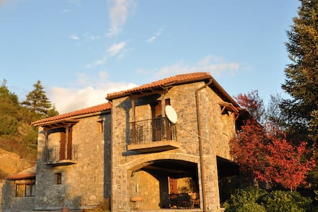 6 bedroom stone house - Kastraki Vacations House