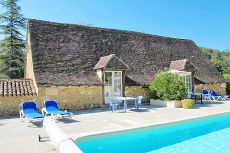 Holiday apartment in a lovely stone house with pool
