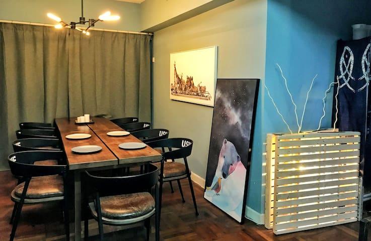 简屋男生房四人间床位4(市中心5条地铁直达,免费赠送早餐)(Men's room,No. 4)
