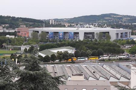 Euro2016 Saint-Etienne:appartement F3Face au stade - Saint-Étienne - Ortak mülk