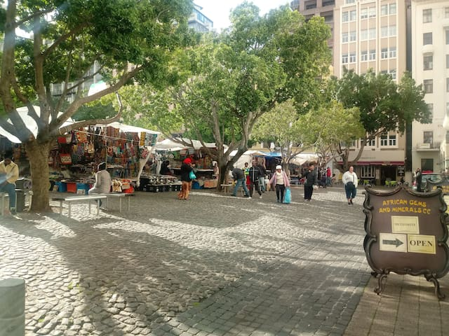 Cape town Green Market Square