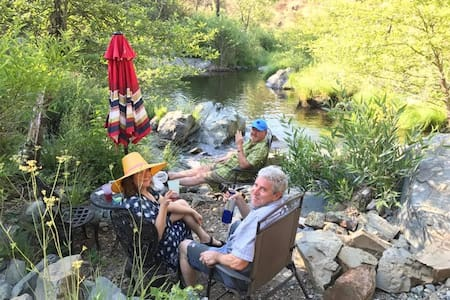 Fall Asleep to the Sound of a Creek