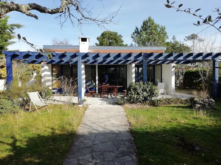 Maison calme, forêt, océan, Montalivet-les-Bains