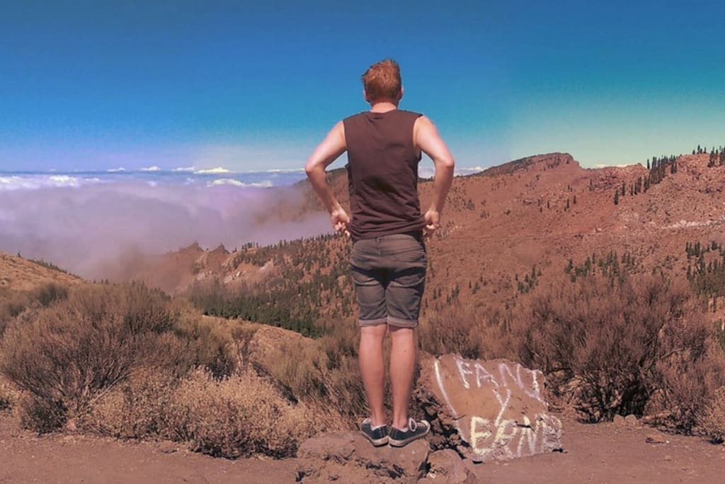 "Tour: Panorama From ""Fani"" Point near El Teide"