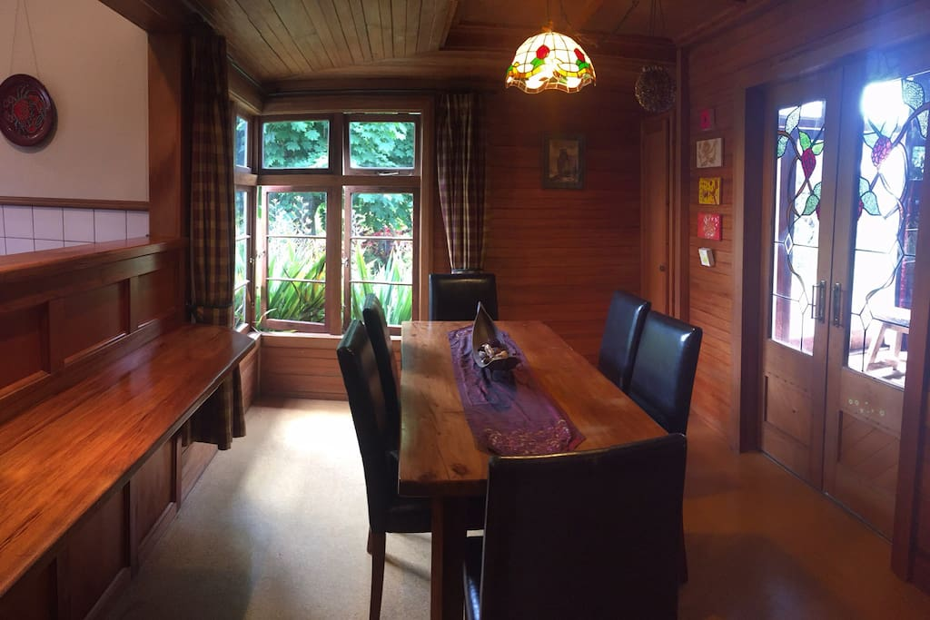 Dining room with garden views -also has a bar