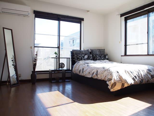 25min to Ikebukuro!WiFi!Private bathroom!1LDK 47㎡! - Fujimi-shi - Appartamento