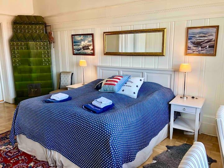 Master bedroom in center of Gothenburg