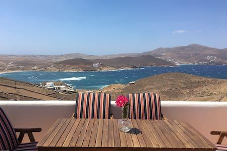 Ftelia Panoramic Sea View Villa Aias