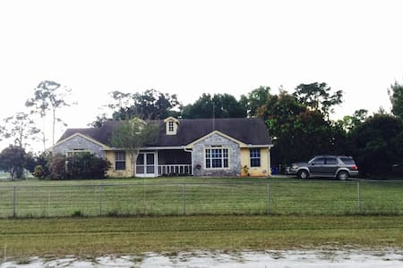 1BD/1BR Private check in any time. - Loxahatchee - 独立屋