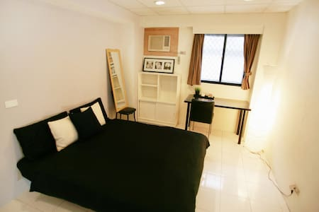 400m to MRT, Double room, terrace 1