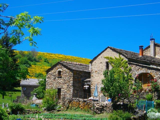 country house in the caroux area.
