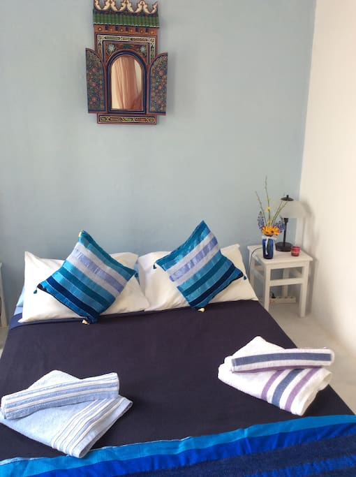 Double room with sea view and balcony