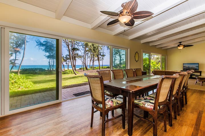 Beachfront in Anahola, Kauai - ANAV - Anahola - House