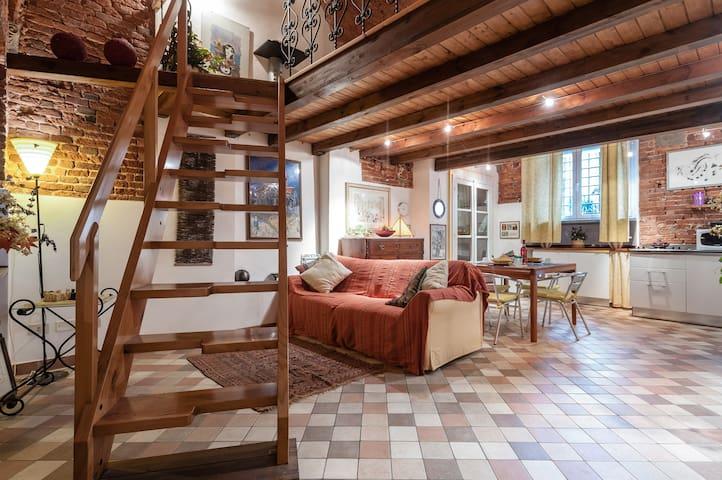 Loft  in Antico Palazzo in Via Fillungo