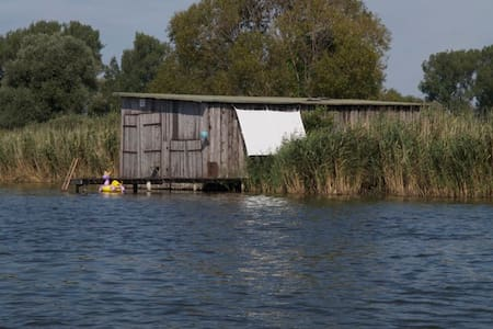 The Boat House , dream in the natur - Groß Kreutz - Cabana