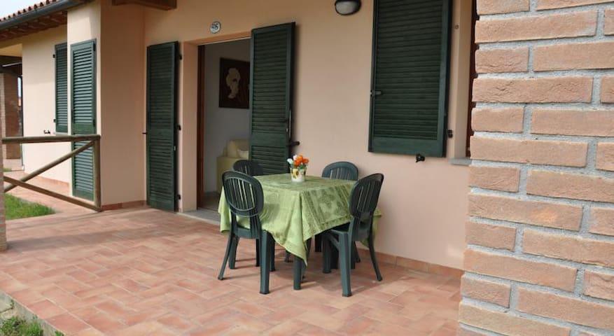 veranda attrezzata patio
