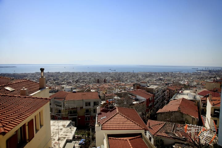Best View in Thessaloniki Town! - Thessaloníki - Pis