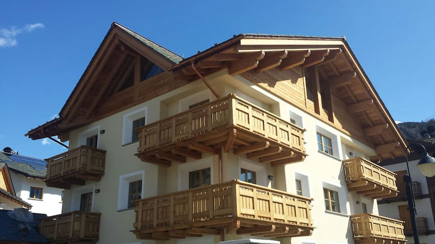 COZY & CENTRAL STUDIO for 2 close to the cable car - Bormio - Apartament