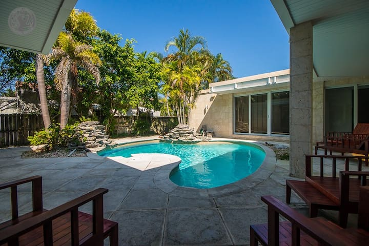 SOBE POOL VILLA 4 BLOCKS TO BEACH & LINCOLN ROAD - Miami Beach - Huis