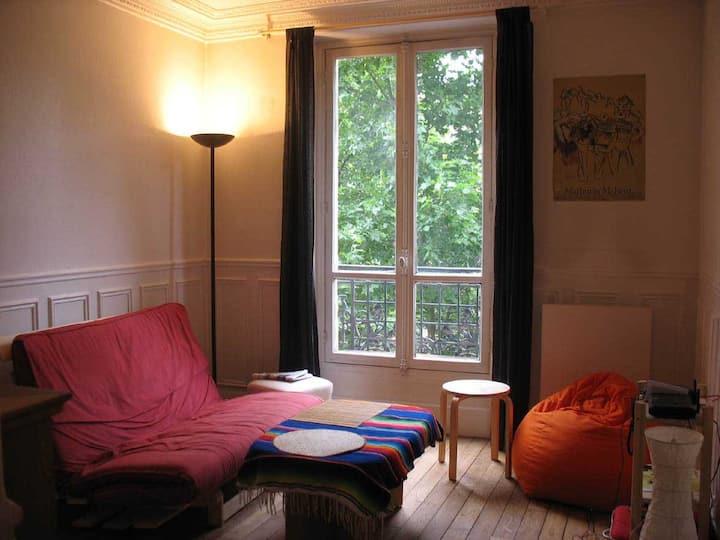 Apartment calm and cosy paris 13