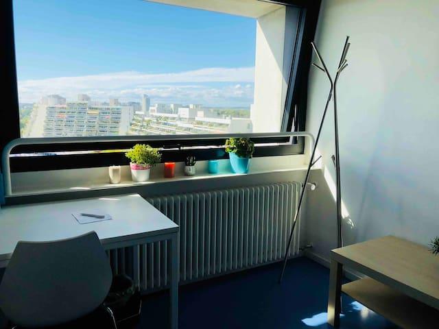 Single Apartment at Olympiapark