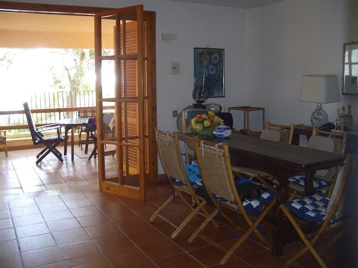 Quite apartment in villa, with terrace see wiew