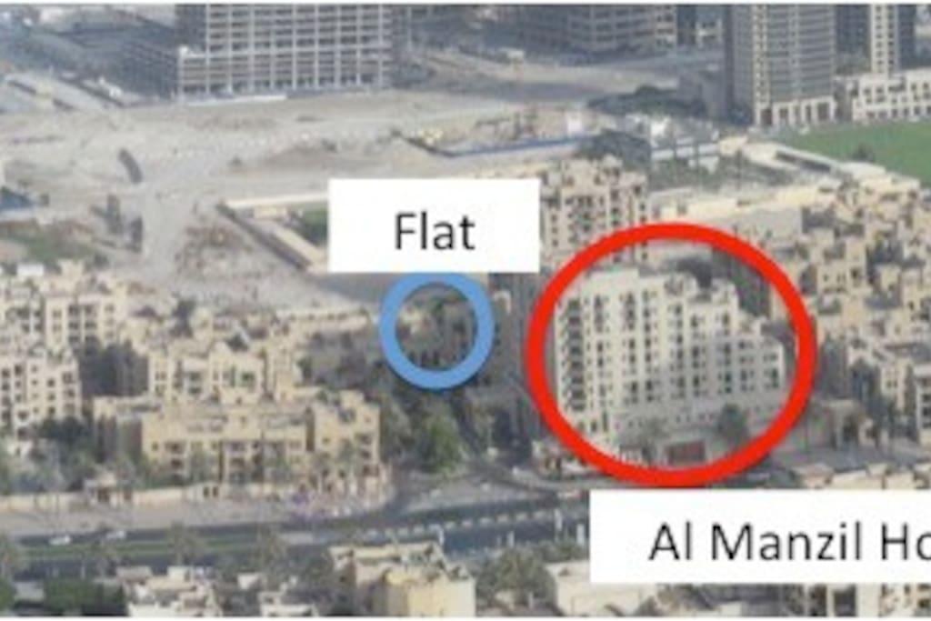 Dubai, Down Town Al Manzil Old Town