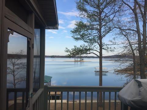 The Captain's Cabin on Logan Martin lake