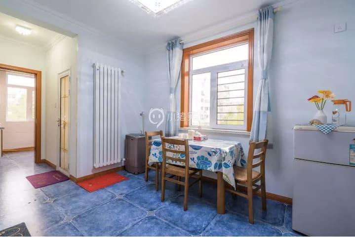 近五四广场、奥帆中心 一居室 闹中取静的温馨家庭公寓 - ชิงเต่า