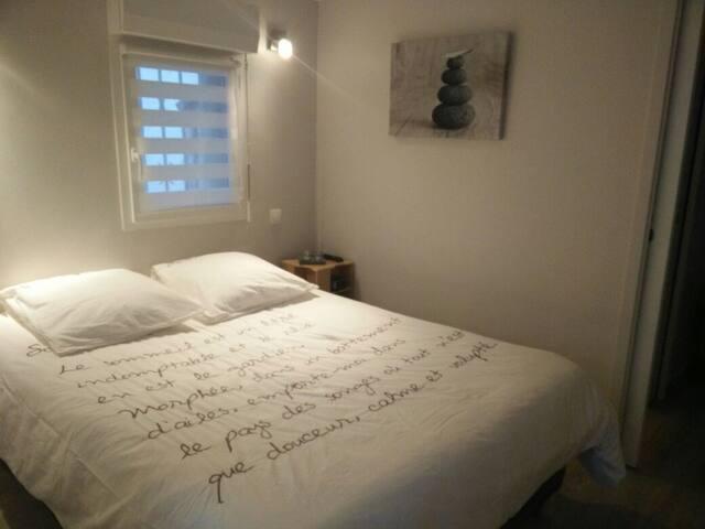 Chambre plus salle de bain - Anglet - House