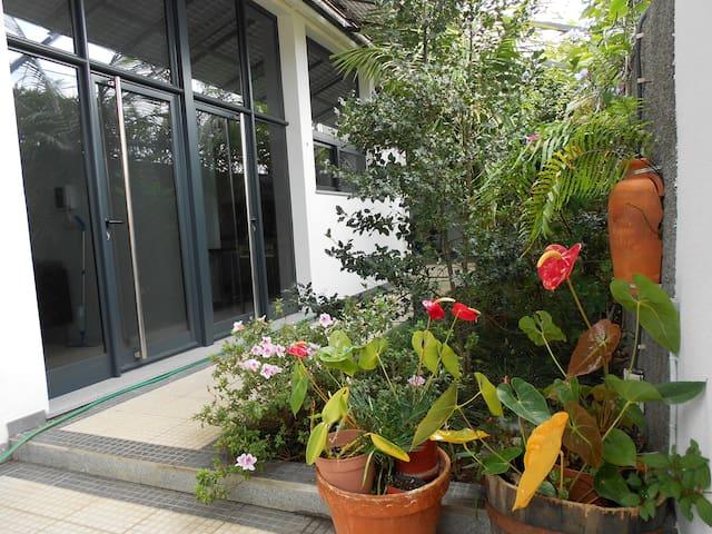 Charming garden flat - Funchal - House