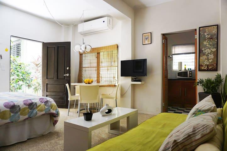Airy and spacious studio apartment