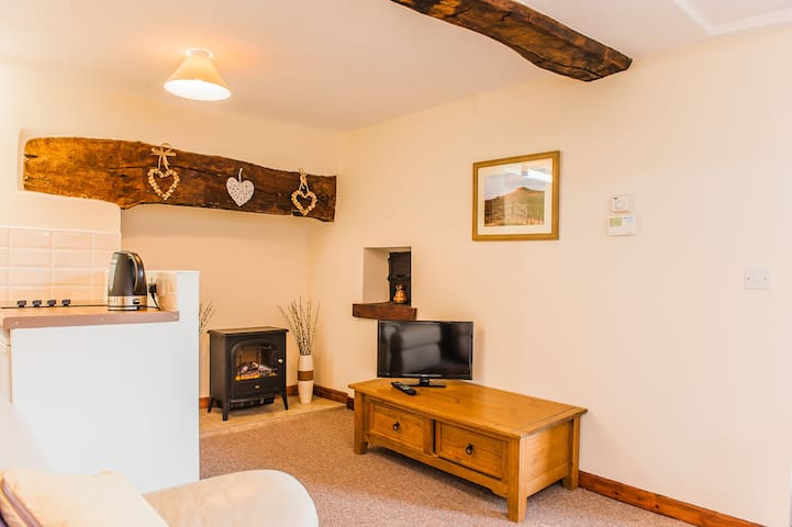A comfy, well equipped space in the Brecon Beacons